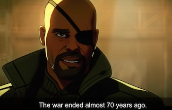 Nick Fury in What If...?