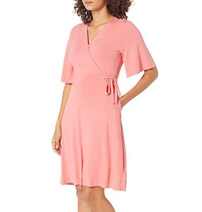 Amazon Essentials Kimono Sleeve Wrap Dress