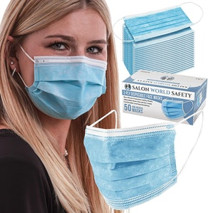 TCP Global Disposable Face Masks (50-Pack)