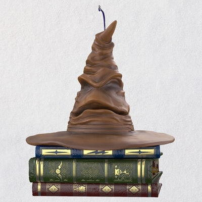 Harry Potter™ Sorting Hat™ Ornament With Sound and Motion