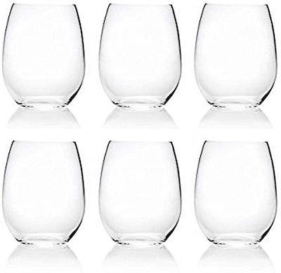 XINGUO PLASTIC Acrylic Stemless Wine Glasses