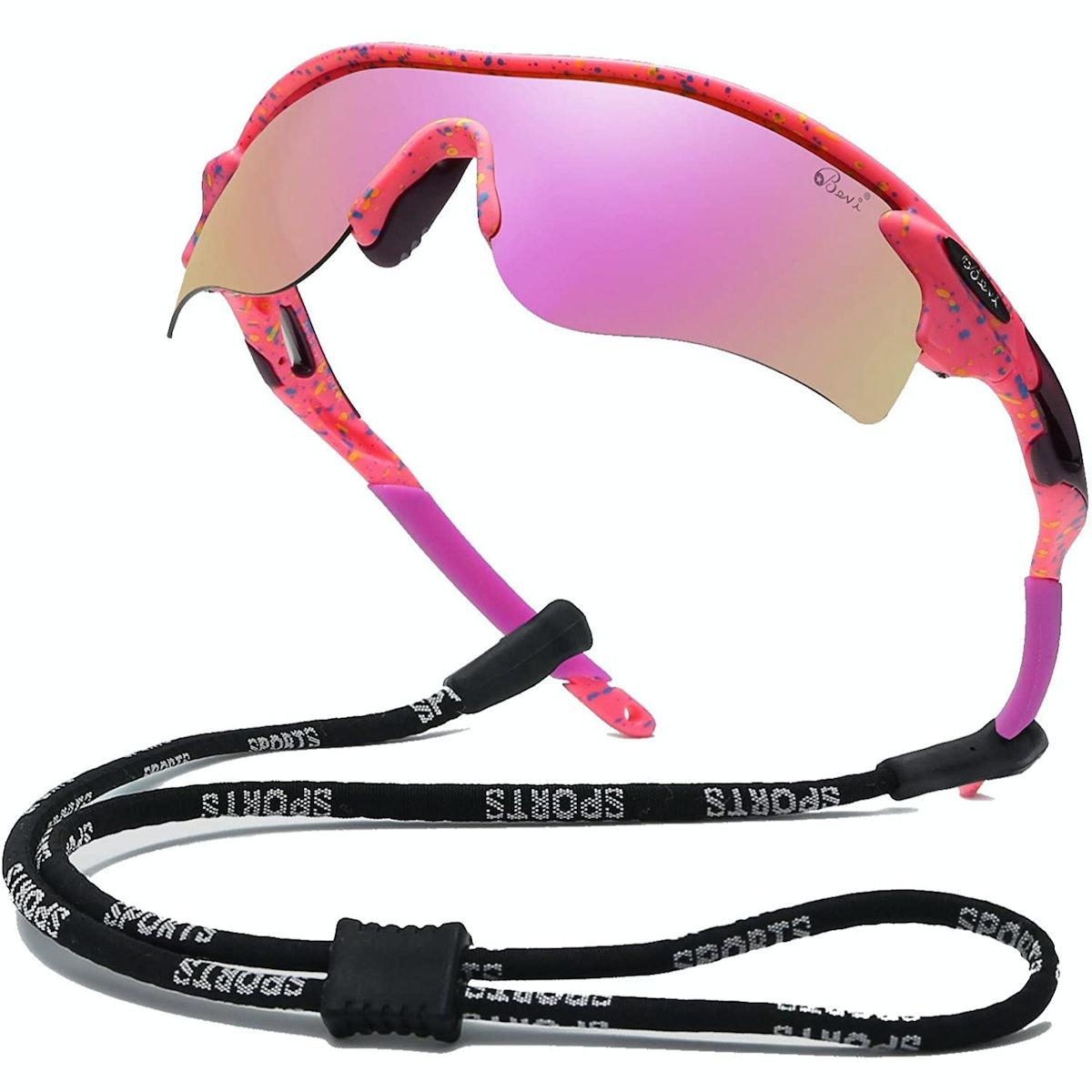 Bevi Polarized Sports Sunglasses