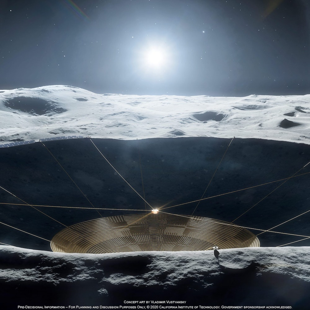The Moon may be able to serve as the perfect landscape to build future telescopes.