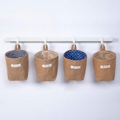 sansheng Wall-Hanging Storage Bags (4-Pack)