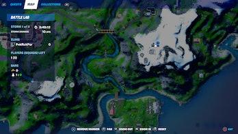 fortnite week 10 alien artifact location 3 map