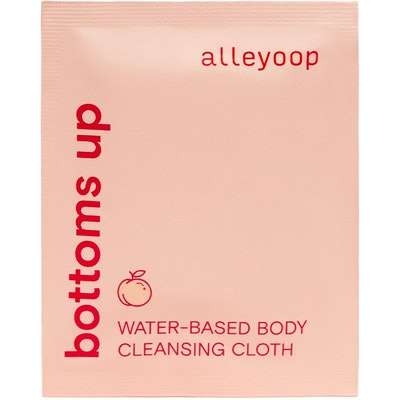 Alleyoop Bottoms Up Water-Based Body Cleansing Cloths