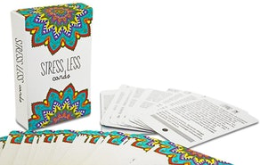 Sunny Present Stress Less Cards