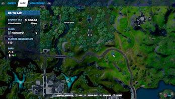 fortnite week 10 alien artifact location 1 map