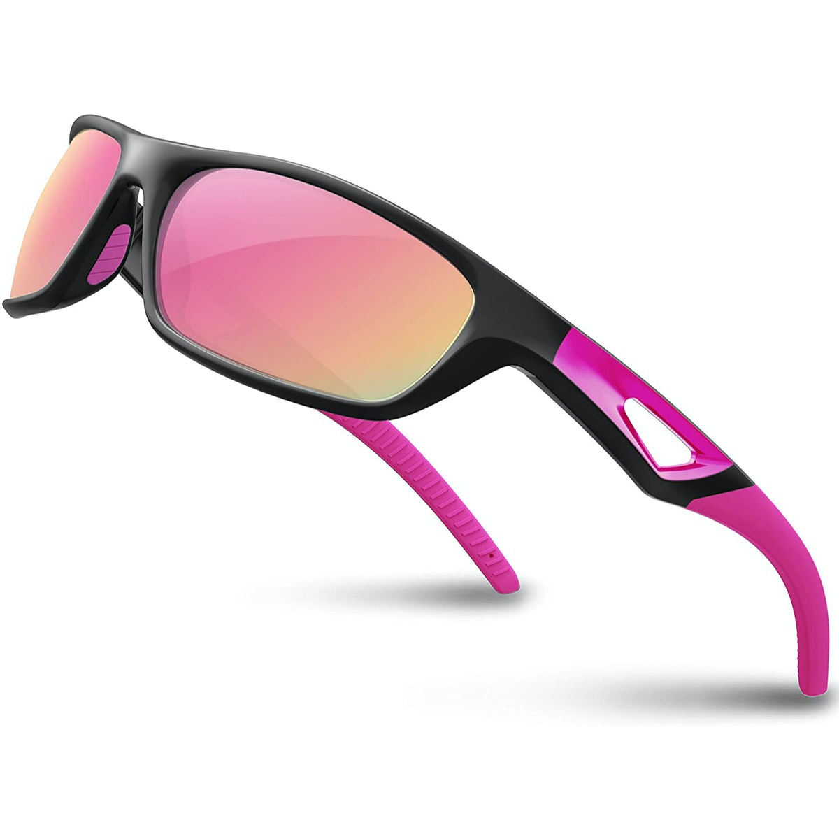 RIVBOS Polarized TR90 Sports Sunglasses