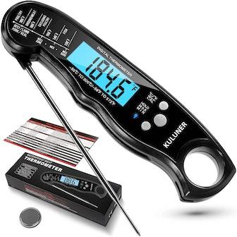 KULUNER Waterproof Digital Instant Read Meat Thermometer