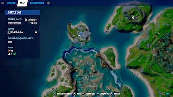fortnite week 10 alien artifact location 4 map