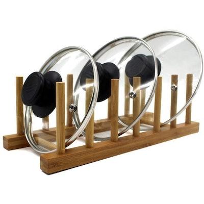 INNERNEED Bamboo Wooden Dish Rack
