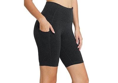 BALEAF High-Waisted Yoga Shorts