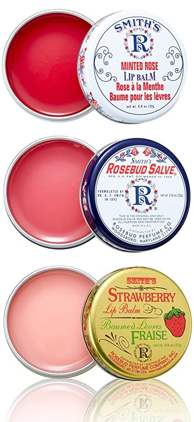 Rosebud Three Lavish Layers Lip Balm