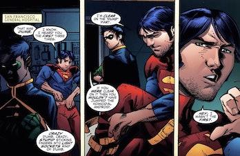 Tim Drake Batman Robin bisexual