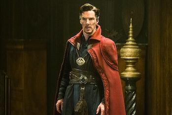 Benedict Cumberbatch as Stephen Strange in 2016's Doctor Strange
