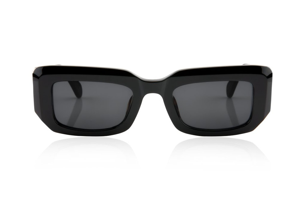 Oscar & Frank Cortez sunglasses in Gloss Black.