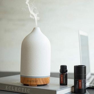 VIVITEST Ceramic Essential Oil Diffuser