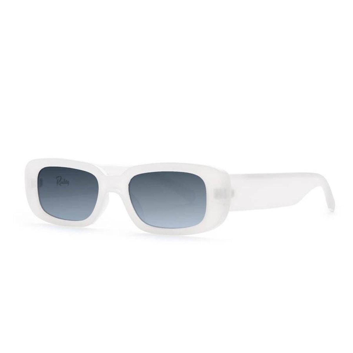 Reality Eyewear Xray specs sunglasses in white.