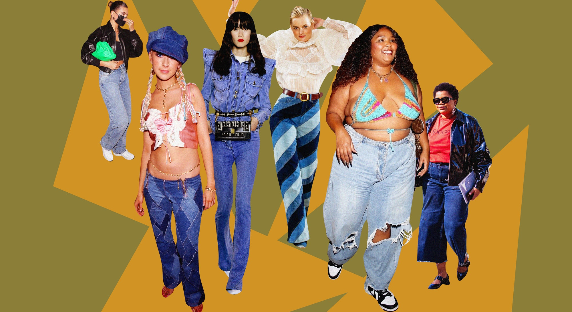 The Fall 2021 denim trends everyone will be wearing this season range from '90s patchwork to 2000s l...