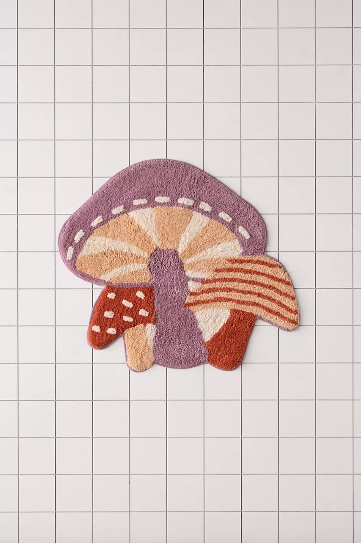 Mushroom Tufted Bath Mat