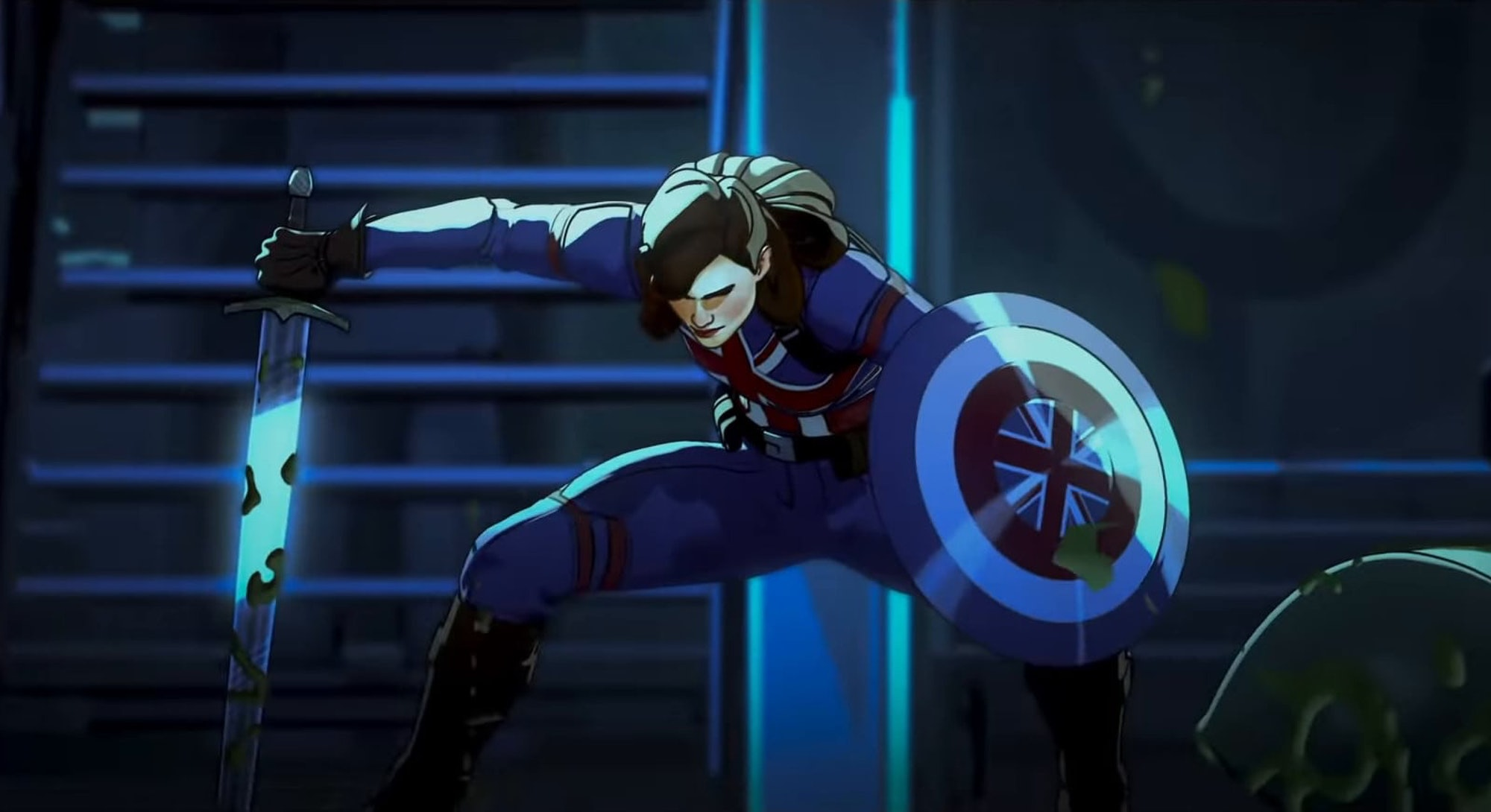 Peggy Carter as Captain America in Marvel's What If TV show