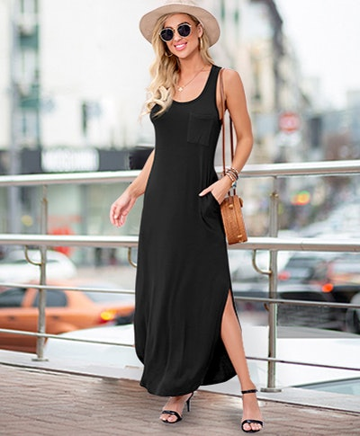 GRECERELLE Sleeveless Maxi Dress