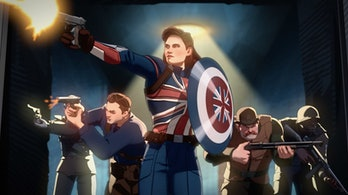 Captain Carter What If..? Peggy Captain America pacing
