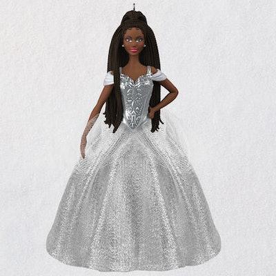 2021 Black Holiday Barbie™ Doll Ornament
