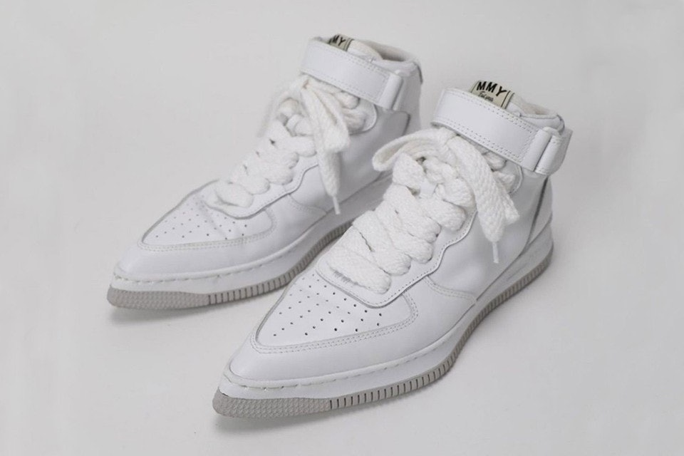 These bizarre pointed-toe Nike Air Force 1 shoes will blow your mind