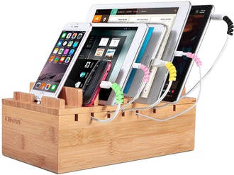 Ollieroo Bamboo Charging Station