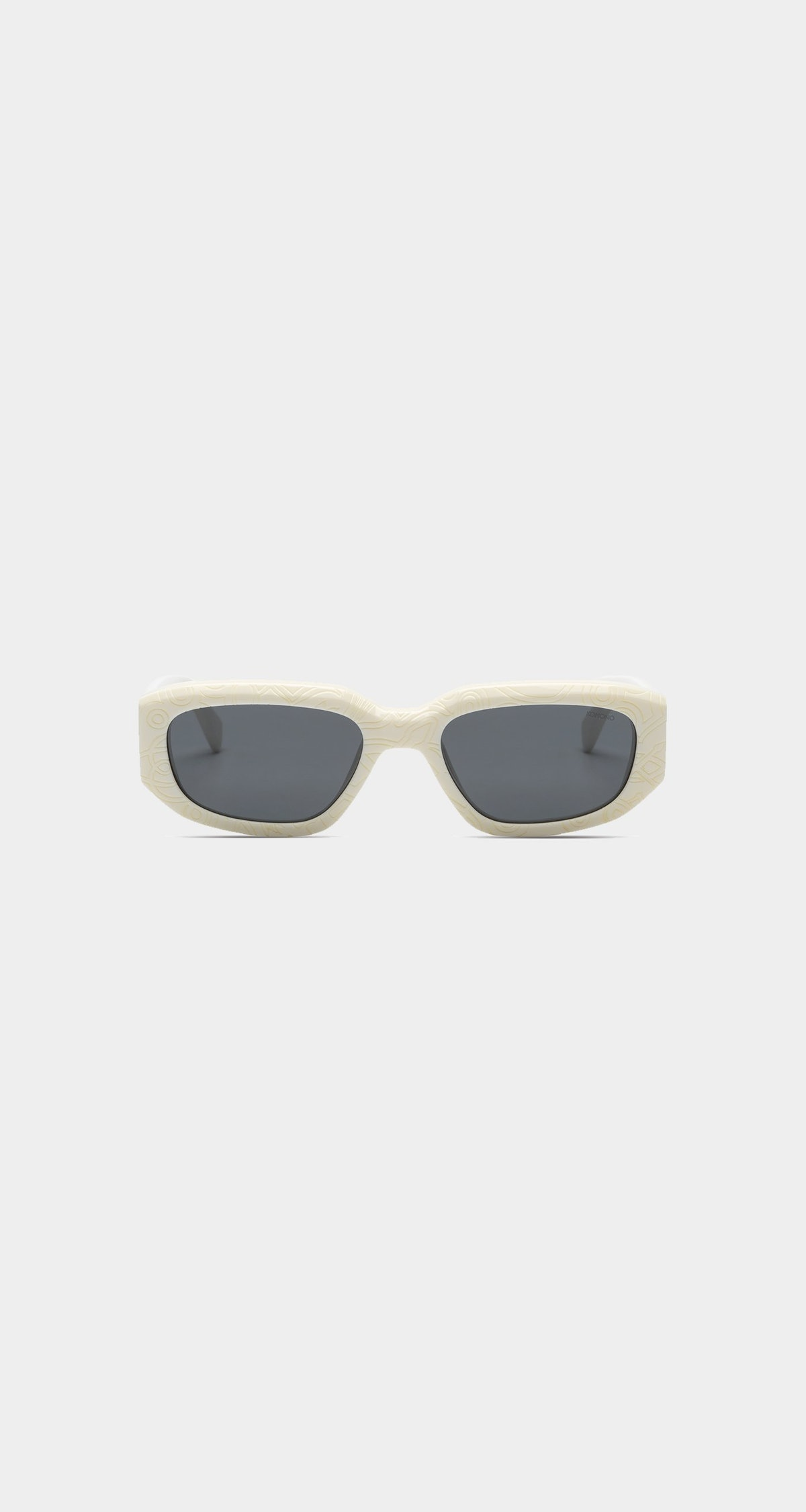 Ivory Rex sunglasses from Daily Paper x KOMONO collaboration.