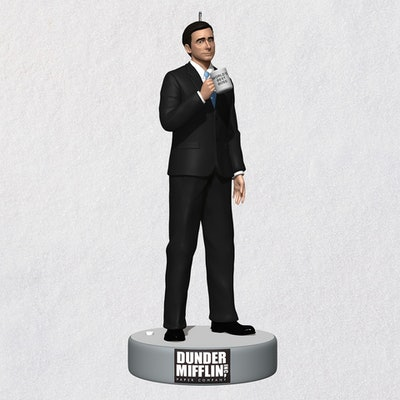 The Office Michael Scott Ornament With Sound
