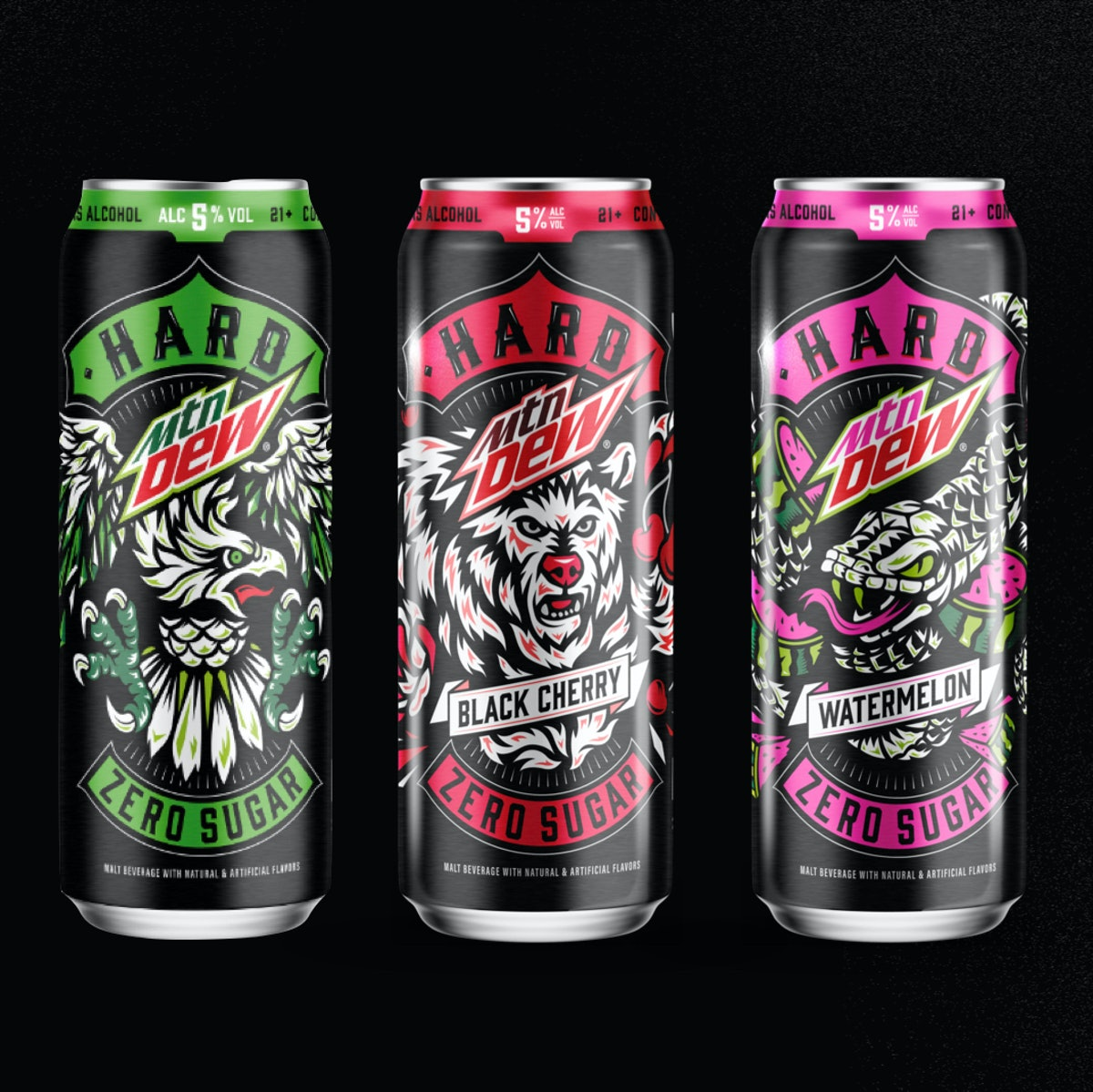 Here's what to know about if there is caffeine in Hard Mountain Dew.