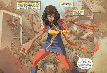 Kamala Khan Ms. Marvel first appearance