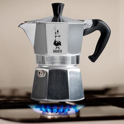 Bialetti Moka Express Stovetop Coffee Maker, 3-Cup