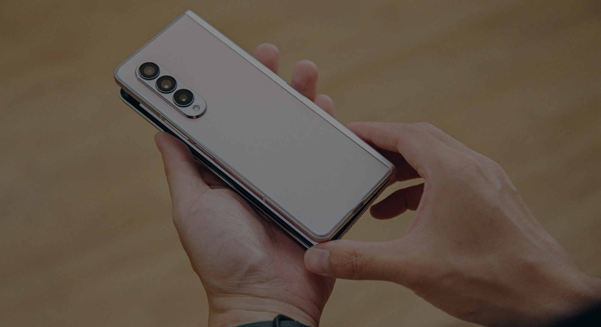 The Galaxy Z Flip 3 shot on Kodak film. Photography. Photos. Smartphone. Folding phone.