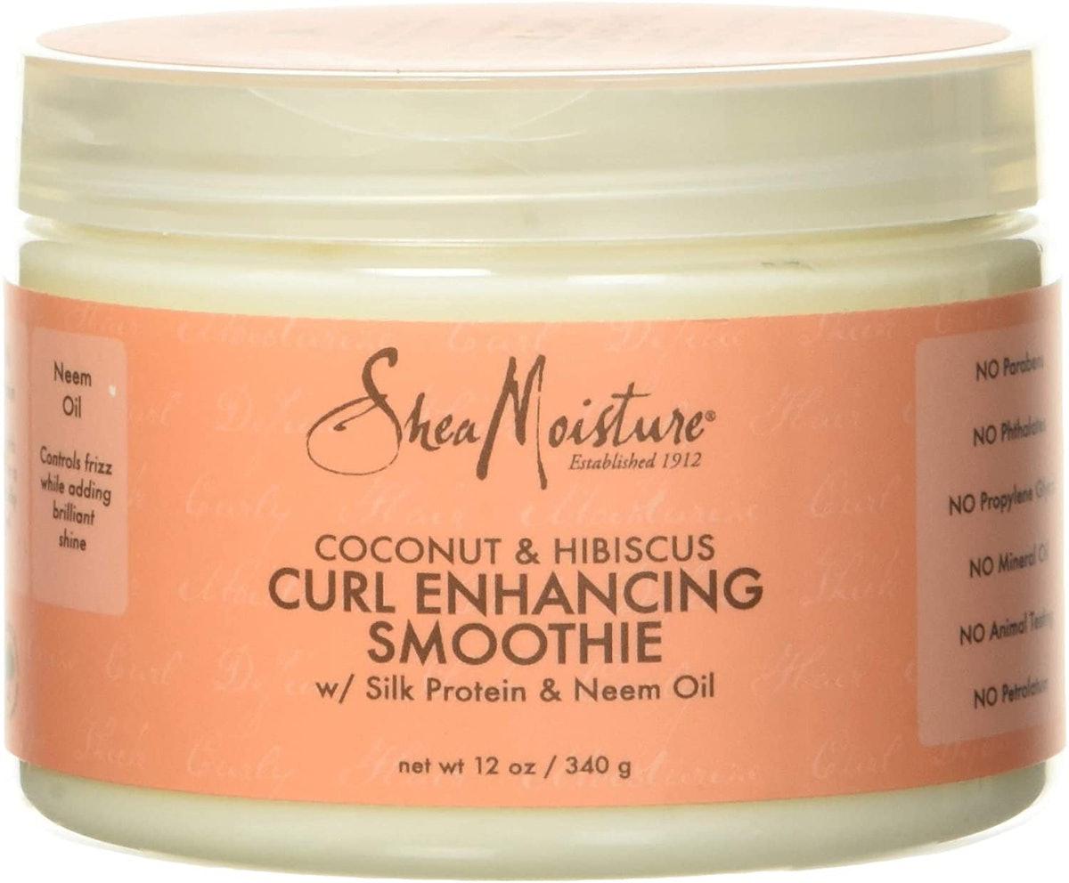 Coconut Hibiscus Curl Enhancing Smoothie