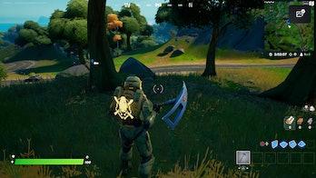 fortnite week 10 alien artifact location 1 gameplay