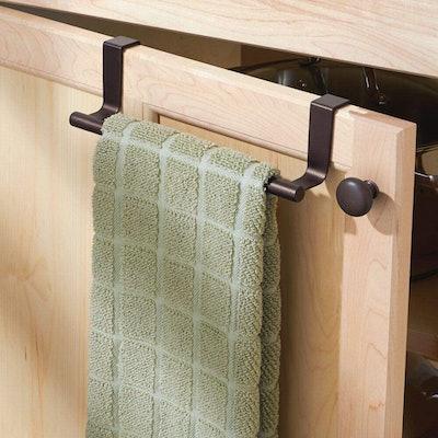 mDesign Over Cabinet Towel Bar