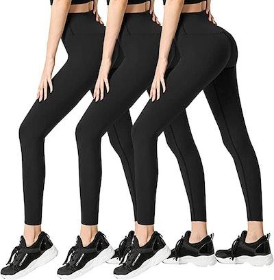 FULLSOFT Yoga Pants (3-Pack)