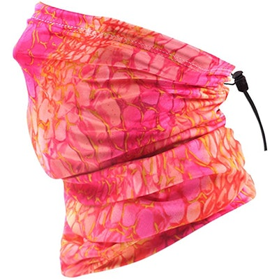 KEEPRONE Double-Layer Neck Gaiter With Drawstring
