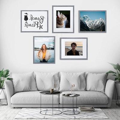 upsimples Picture Frame Set (Set of 5)