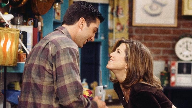 Ross & Rachel in 'Friends'