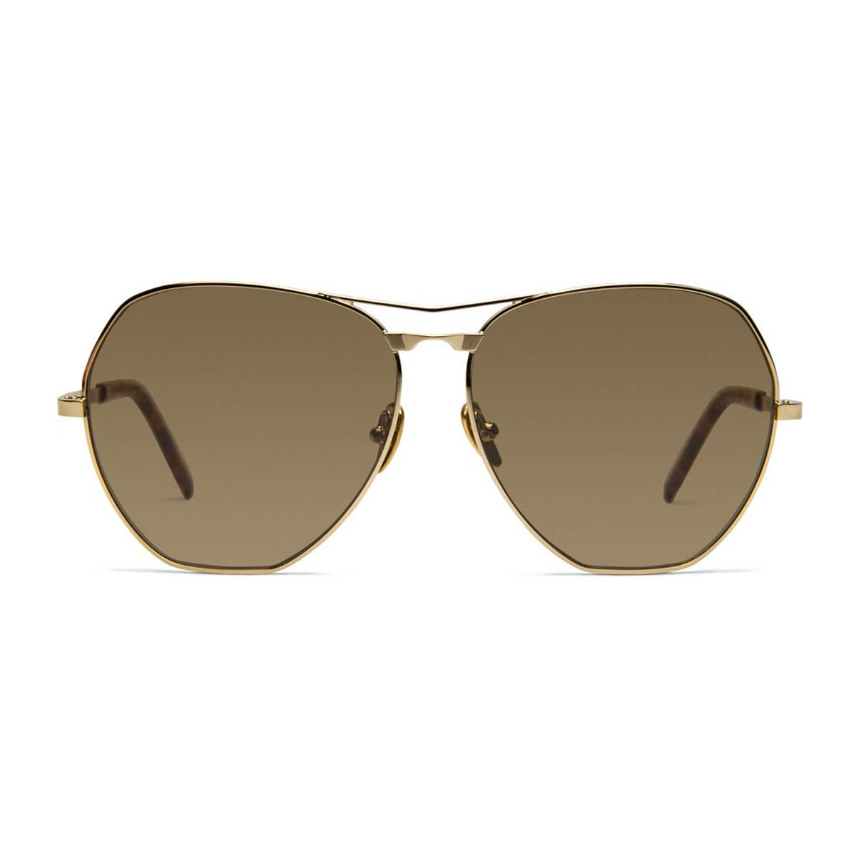 Avatar sunglasses in gold from COCO AND BREEZY.