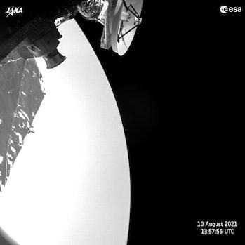 Image from esa mercury orbiter bepicolombo