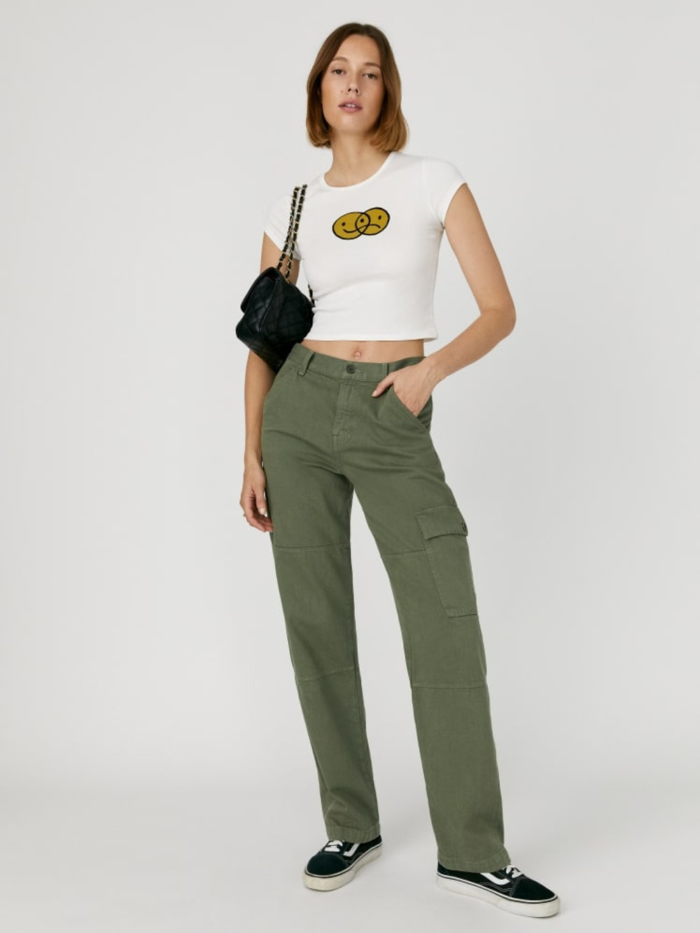 Bailey High Rise Utility Pant