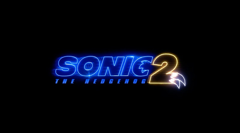 Title card for Sonic the Hedgehog 2