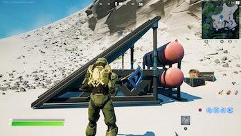 fortnite week 10 alien artifact location 3 gameplay