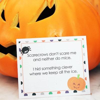 Halloween Scavenger Hunt, Indoor Edition